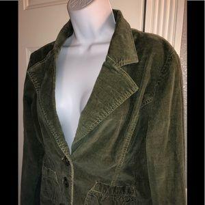 Vintage Tulle corduroy blazer